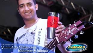 Foto Henrique & Juliano no #QuintalDaClube 32