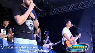 Foto Henrique & Juliano no #QuintalDaClube 33