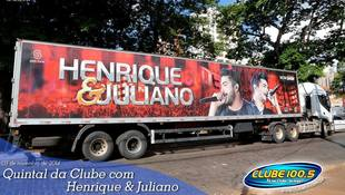 Foto Henrique & Juliano no #QuintalDaClube 34