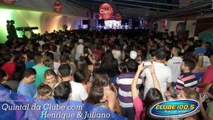 Foto Henrique & Juliano no #QuintalDaClube 35