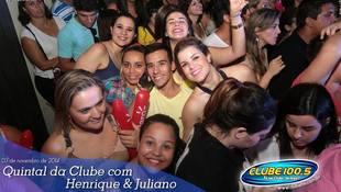 Foto Henrique & Juliano no #QuintalDaClube 36