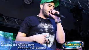Foto Henrique & Juliano no #QuintalDaClube 37