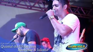 Foto Henrique & Juliano no #QuintalDaClube 38