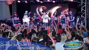 Foto Henrique & Juliano no #QuintalDaClube 41