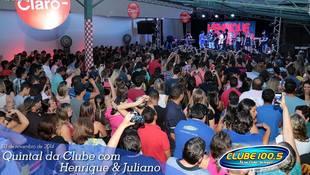 Foto Henrique & Juliano no #QuintalDaClube 40