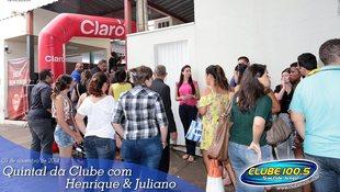 Foto Henrique & Juliano no #QuintalDaClube 42