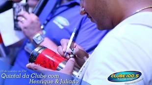 Foto Henrique & Juliano no #QuintalDaClube 44