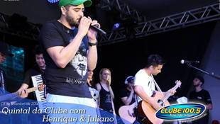 Foto Henrique & Juliano no #QuintalDaClube 46