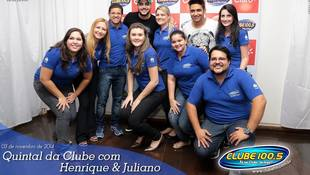 Foto Henrique & Juliano no #QuintalDaClube 47