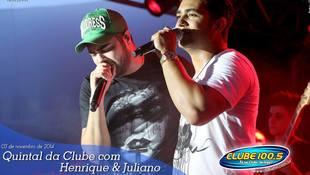 Foto Henrique & Juliano no #QuintalDaClube 49