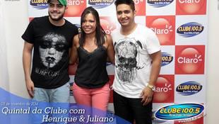 Foto Henrique & Juliano no #QuintalDaClube 50