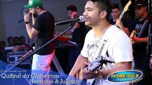 Foto Henrique & Juliano no #QuintalDaClube 52