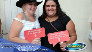 Foto Henrique & Juliano no #QuintalDaClube 54