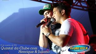 Foto Henrique & Juliano no #QuintalDaClube 53