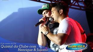 Foto Henrique & Juliano no #QuintalDaClube 53