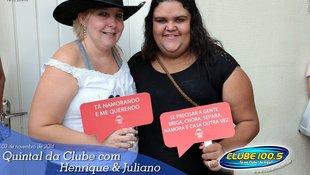 Foto Quintal da Clube com Guilherme & Santiago 281