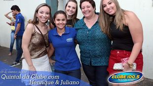 Foto Henrique & Juliano no #QuintalDaClube 55
