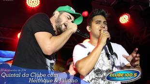 Foto Henrique & Juliano no #QuintalDaClube 57