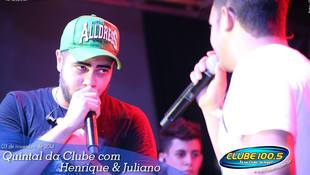 Foto Henrique & Juliano no #QuintalDaClube 58