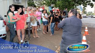 Foto Henrique & Juliano no #QuintalDaClube 59
