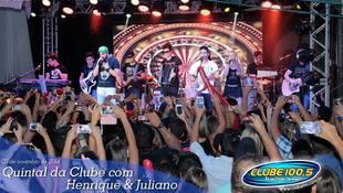 Foto Henrique & Juliano no #QuintalDaClube 61