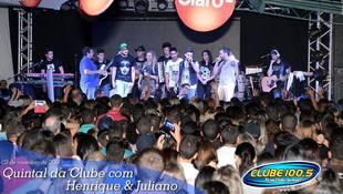Foto Henrique & Juliano no #QuintalDaClube 62