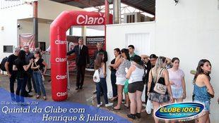 Foto Henrique & Juliano no #QuintalDaClube 63