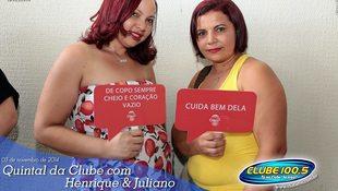 Foto Quintal da Clube com Guilherme & Santiago 291