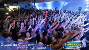 Foto Henrique & Juliano no #QuintalDaClube 65