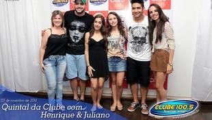 Foto Henrique & Juliano no #QuintalDaClube 66