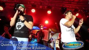 Foto Henrique & Juliano no #QuintalDaClube 67