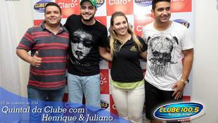 Foto Henrique & Juliano no #QuintalDaClube 68