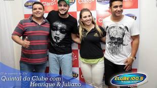 Foto Henrique & Juliano no #QuintalDaClube 68