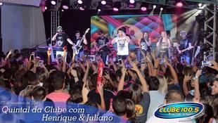 Foto Henrique & Juliano no #QuintalDaClube 69