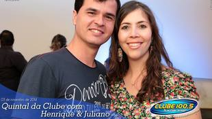 Foto Henrique & Juliano no #QuintalDaClube 72