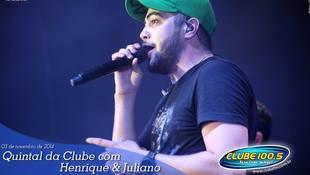 Foto Henrique & Juliano no #QuintalDaClube 74