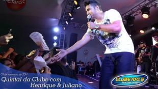 Foto Henrique & Juliano no #QuintalDaClube 76