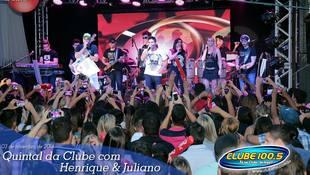 Foto Henrique & Juliano no #QuintalDaClube 77