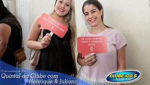 Foto Henrique & Juliano no #QuintalDaClube 80