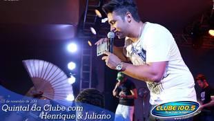 Foto Henrique & Juliano no #QuintalDaClube 82