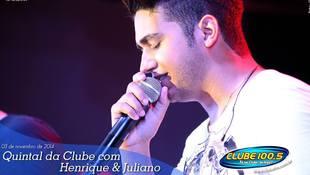 Foto Henrique & Juliano no #QuintalDaClube 84
