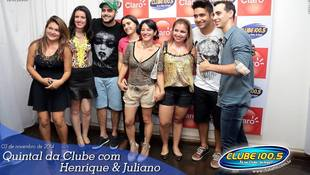 Foto Henrique & Juliano no #QuintalDaClube 84
