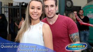 Foto Henrique & Juliano no #QuintalDaClube 85