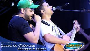 Foto Henrique & Juliano no #QuintalDaClube 87