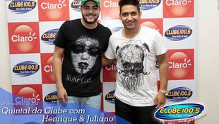 Foto Henrique & Juliano no #QuintalDaClube 88