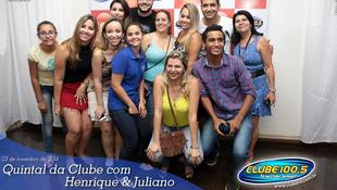 Foto Henrique & Juliano no #QuintalDaClube 89