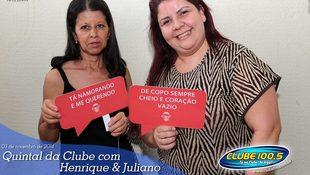 Foto Henrique & Juliano no #QuintalDaClube 90