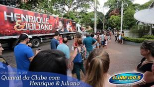 Foto Henrique & Juliano no #QuintalDaClube 91