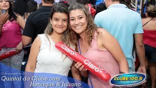 Foto Henrique & Juliano no #QuintalDaClube 94
