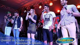 Foto Henrique & Juliano no #QuintalDaClube 95